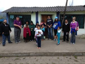 Ecuador Mission Trip - Street Witnessing